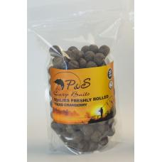 Бойлы P&S Boilies Freshly Rolled Squid Cranberry - 20 мм 1 кг
