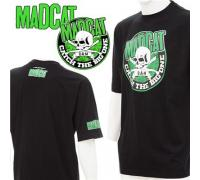 "Футболка DAM MADCAT T-SHIRT ""Skull & Clonks"" - Black XL"