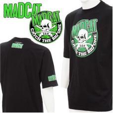 "Футболка DAM MADCAT T-SHIRT ""Skull & Clonks"" - Black L"