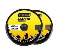 Шнур поводочный DAM MAD Lizard Skin Soft Brown 20m 20lb