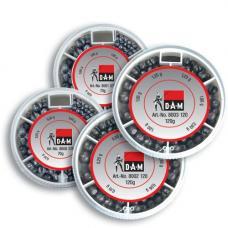 Грузила-дробинки DAM Split Shot Dispenser - S / 120 гр