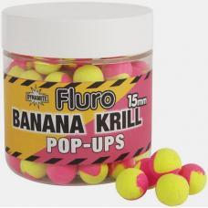 Бойлы Pop-up Dynamite Baits Krill & Banana Fluro