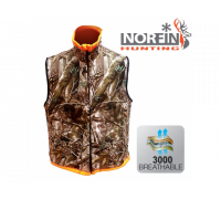 Жилет Norfin Huntinh REVERSABLE VEST passion / orange (двусторонний) / S